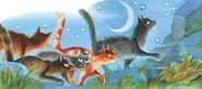 Ледозвёзд ведёт котов в племя Ветра