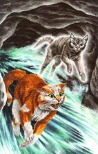 Воробушек видит гибель Листопада, Темная река золото