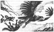 Орёл уносит Атаку