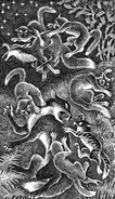 Ольхолап Огнелапка Иглолапка Песчаная Буря Крот Вишня и лисы Приключения Ольхолапа