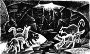 Поиски котят Тёмная река