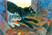 Прыткохвост и Камышинник Битвы племён