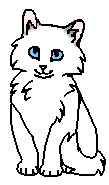 Снежинка (котенок)