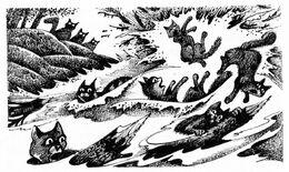 После разрушения плотины Четвёртый оруженосец