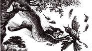 Ловкач ловит дрозда Судьба Небесного племени Решение