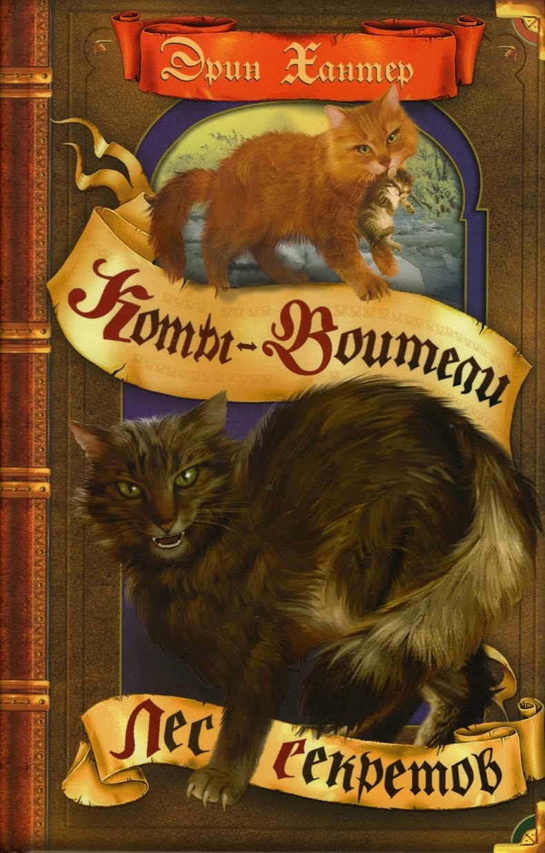 Коты воители книги все картинки