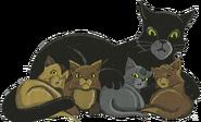 Моховушка и котята «Прибежище воителя»