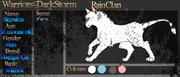 Rainclan blank application sheet by retisha-d60pbuv
