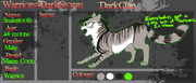 Darkclan blank application sheet by retisha-d60pbee