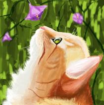 Kittenwithflowers