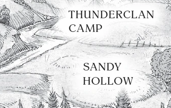 The sandy hollow