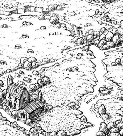 Warrior Cat Territory Map Maker
