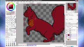Charart - 1 Squirrelflight (Hunter)