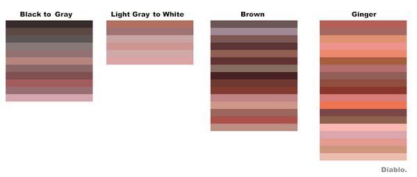 Earpink colours