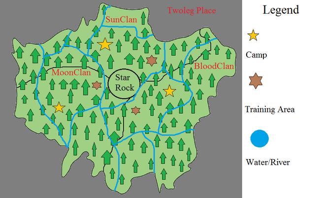 Twoleg Clan Territory