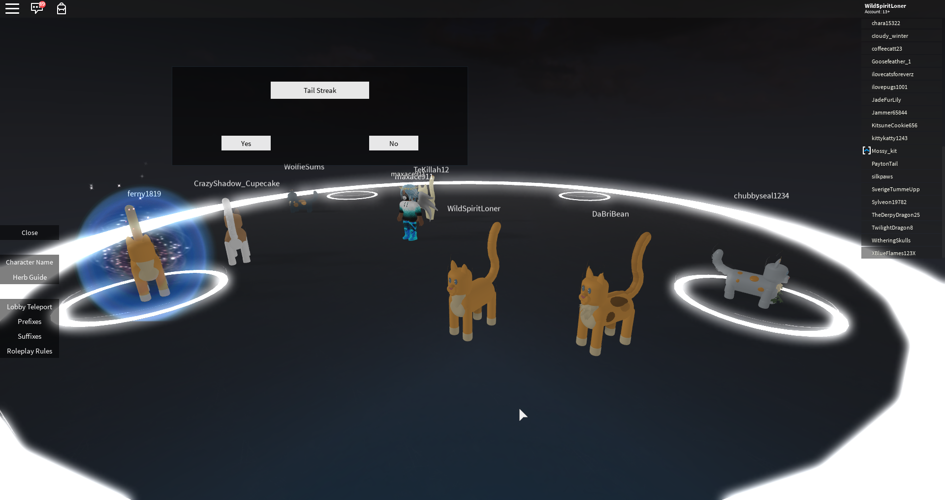 How to Roleplay on Warrior Cats on Roblox | Warriors Fanon