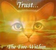 Firestar trust the fire within
