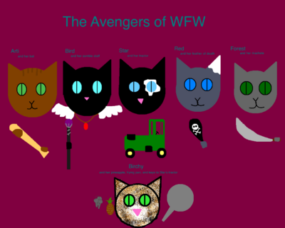 The Kitty Avengers