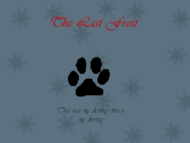 The Last Frost