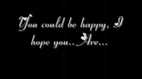 Snow Patrol - You Could Be Happy Lyrics