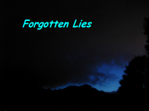 FORGOTTEN LIES LOGO