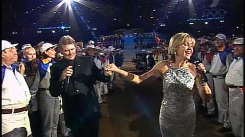 Sydney 2000 Opening Ceremony Part 10 Dare to Dream