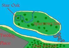SparrowClan map