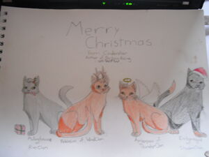 Christmas Darkness Rising Cats