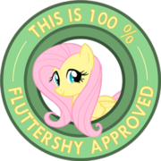 Fluttershy approved by ambris-d4ivleb