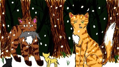 Squirrelflight and Leafpool