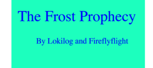 The Frost Prophecy