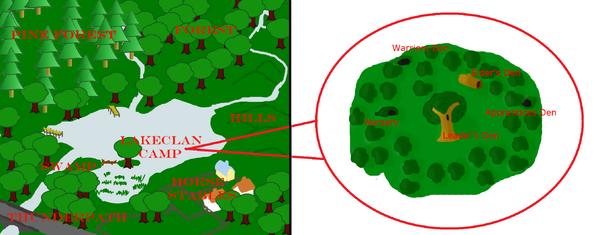 Lakeclanmap