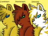 The Story of Icewrath, Featherswirl, and Craneheart