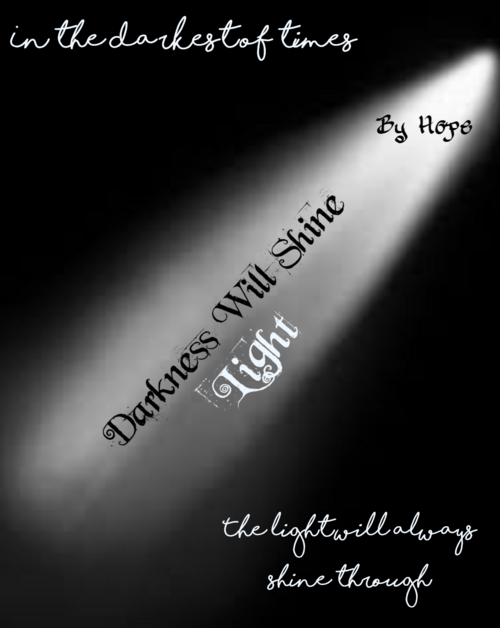 Darkness Will Shine Light Cover