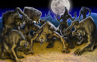 Silverback werewolves by mattroper-d37ucbt