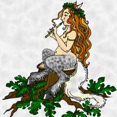 A rare daughter of Satyr and Fauness...