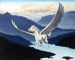 Pegasus in flight-1-