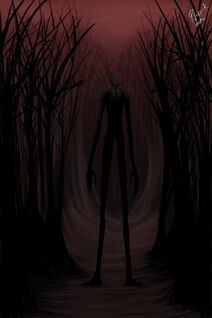 The Slender Man by Nikkorai
