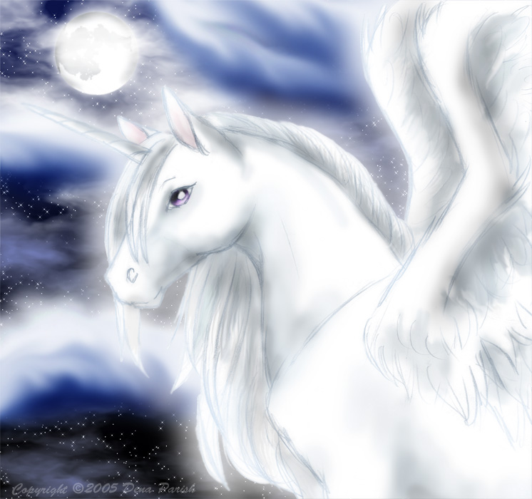 Winged Unicorn By FlyingPony