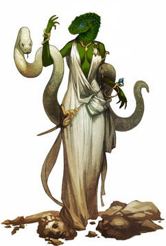 Female serpentfolk by the clockwork king-d55dj0c