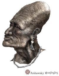 Macrocephalus Macrocephalos Makrokephalos Big Elongated Long Head Tribe Man Men-1-