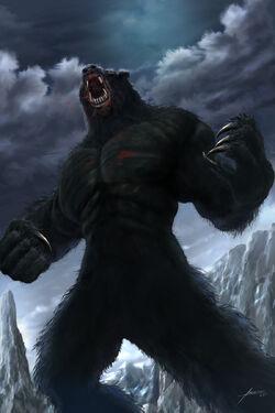 Bear monster (werebear)