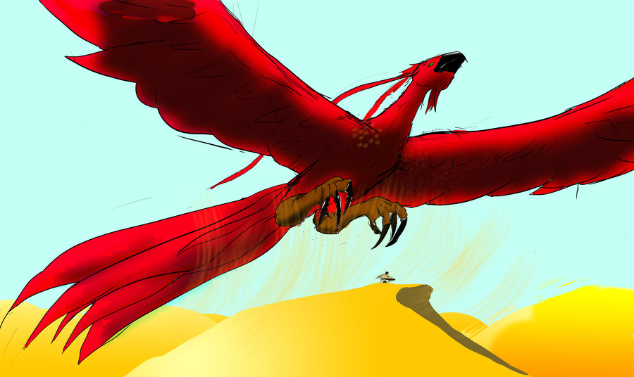 image ziz beast of the sky by xenoanubis d4jlnuk jpg warriors of