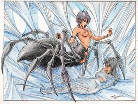 Quiroz (EN) Ric Illustrations - -14399175- - (Fetish BDSM Arachnid)