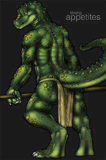 Tojo-the-thief gator