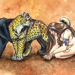 A monster, walking among beasts...