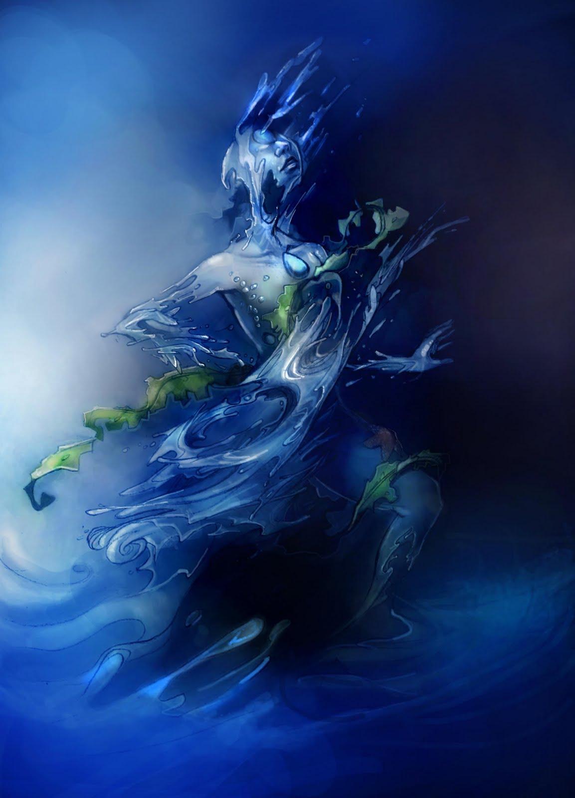 Image - Blue-Water-Elemental-FINAL-web-1-.jpg | Warriors Of Myth ...