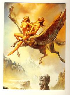 Boris-vallejo-winged-centaur