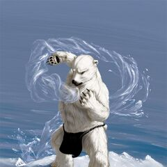 This Inuit Shaman commands the Arctic waters...