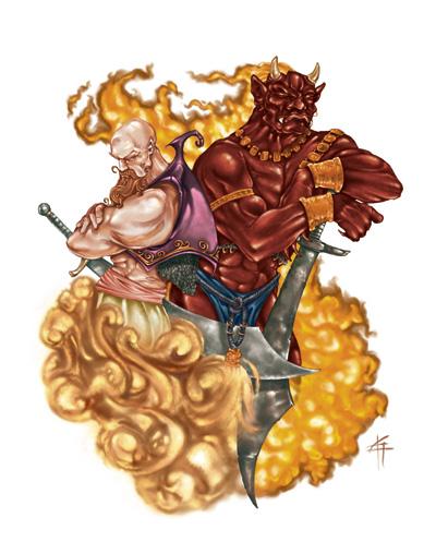 Ifrit   Warriors Of Myth Wiki   Fandom